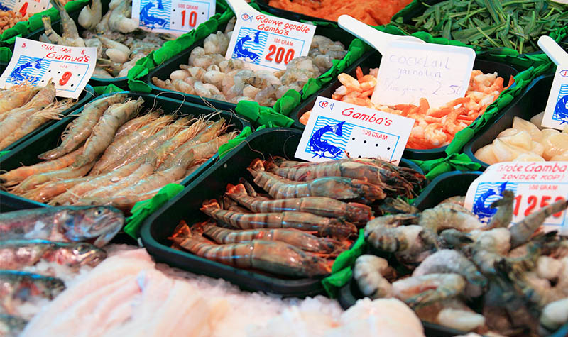 Unterschied Garnelen, Gambas und Shrimps